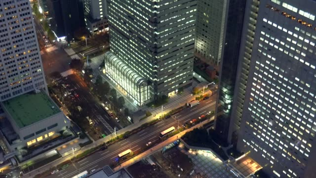 landscape of Tokyo city landscape of Tokyo city office park stock videos & royalty-free footage