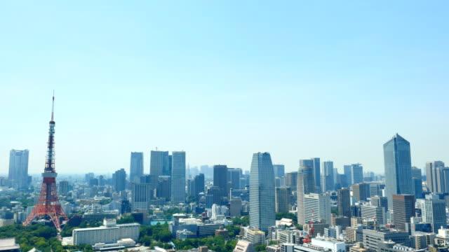 東京都心の風景 - 東京点の映像素材/bロール