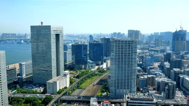 東京都心の風景 - 建物点の映像素材/bロール