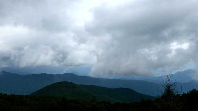 landschaft des utukushigahara höhen in japan - hochplateau stock-videos und b-roll-filmmaterial