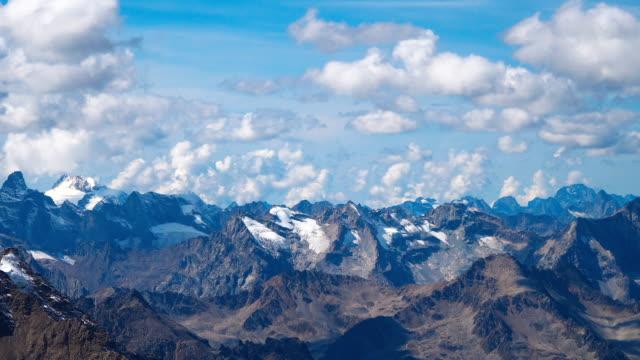 Landscape view of Caucasus mountains