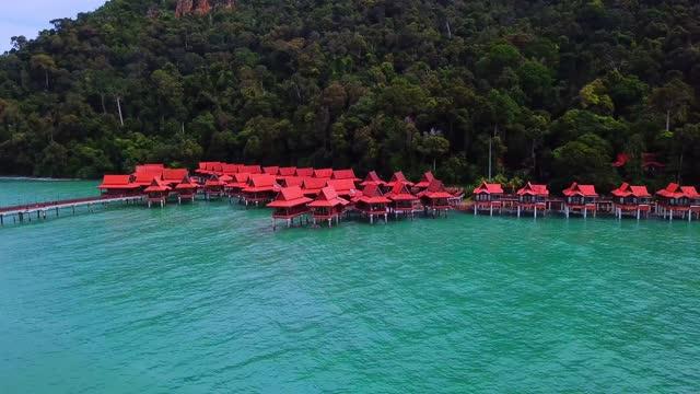 ランカウイ マレーシア - サムイ島点の映像素材/bロール