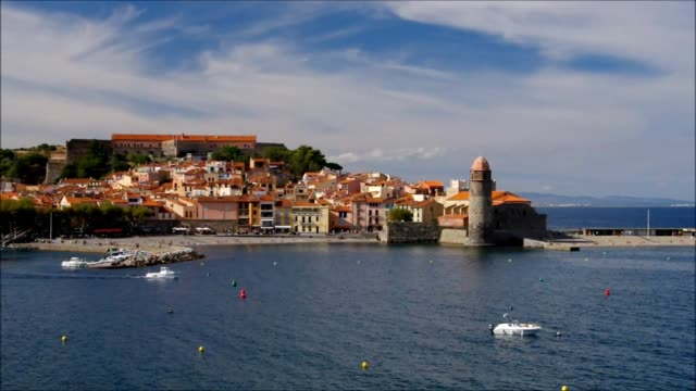 Collioure, Languedoc-Roussillon in France video