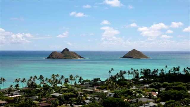 Lanikai Beach, Kailua, Oahu, hawaii video