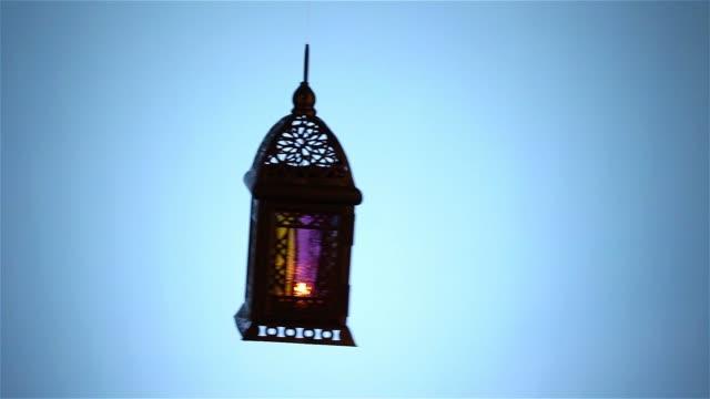 lantern of ramadan - фанус стоковые видео и кадры b-roll