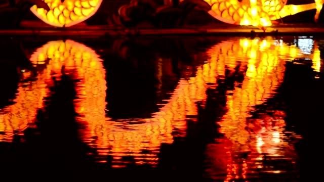 vidéos et rushes de lanterne de réflexologie - nouvel an chinois