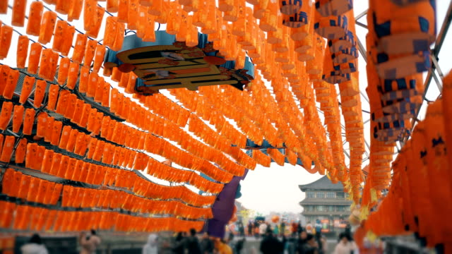 Lanterns for celebrate Chinese Spring Festival