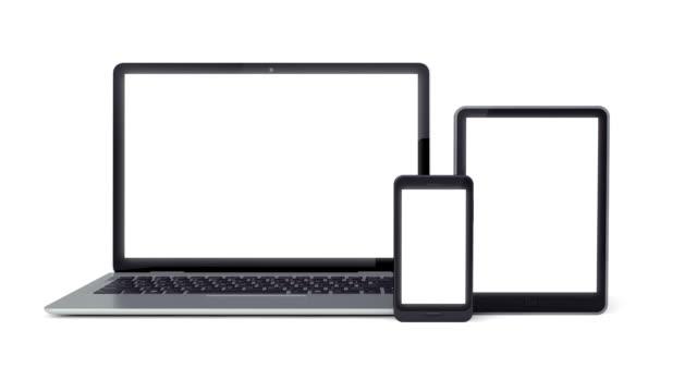 Laptop, Smartphone, Tablet