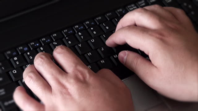 ノートパソコン - レポートのビデオ点の映像素材/bロール