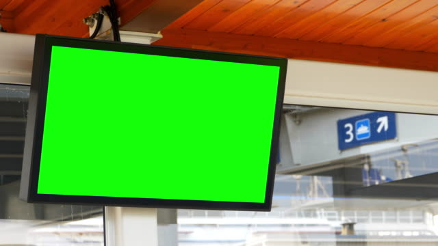Large Blank Wall TV Monitor Video Screen Television LED Panel video
