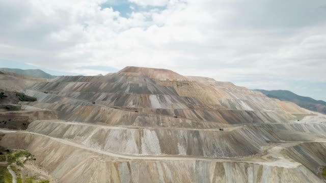 Large Copper Mine Large copper mine after it has been stripped of everything. dump truck stock videos & royalty-free footage