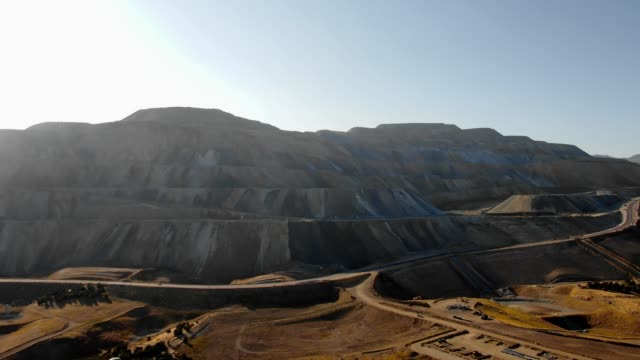 Large Copper Mine Large copper mine after it has been stripped of everything. mining natural resources stock videos & royalty-free footage