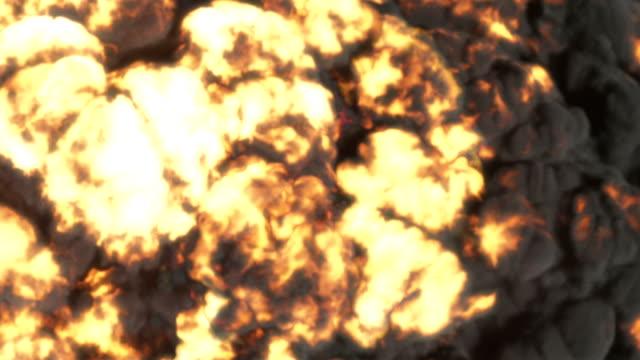 Large explosion 4k