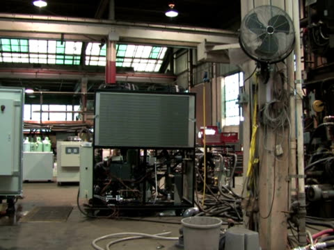 Large Industrial Machinery video