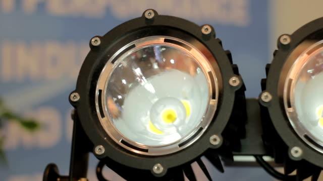 large LED floodlights video