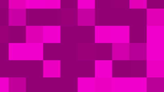 Large Pink Pixels Background Loop video