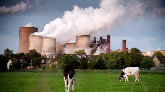 CRANE UP: Large Power Station and Village video