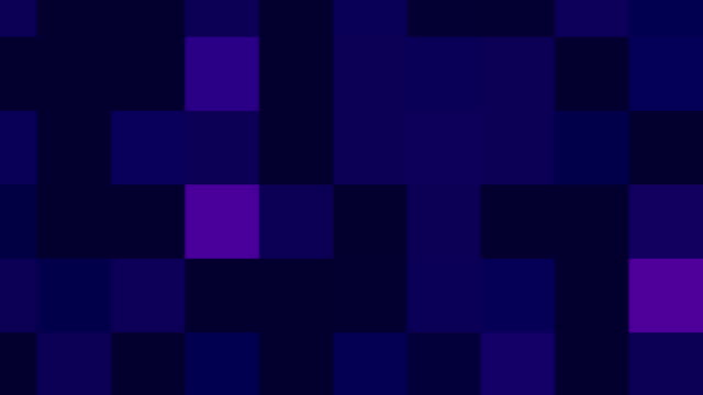 Large Purple Pixels Background Loop video