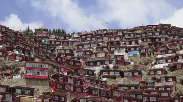 Larung Gar(Larung Five Sciences Buddhist Academy), Seda, China