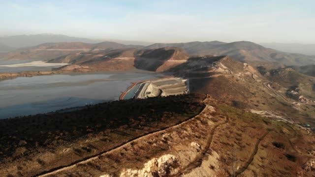 Las Tortolas dam in central Chile