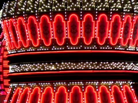 vídeos y material grabado en eventos de stock de luces de las vegas - accesorio financiero
