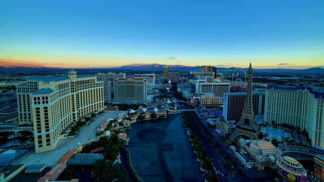 Las Vegas, NV night to day video