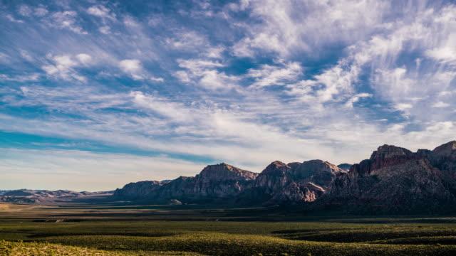 Las Vegas Red Rock Canyon time lapse 4K video