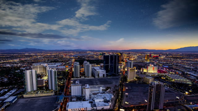 Las Vegas Skyline Timelapse video