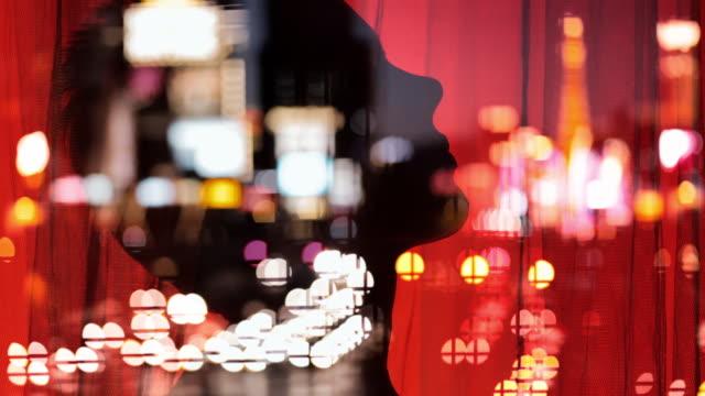 las vegas strip nattliv. sexig dans. - passion bildbanksvideor och videomaterial från bakom kulisserna