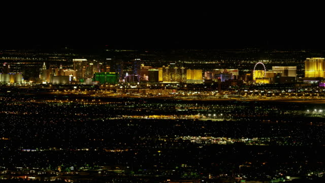 Las Vegas Strip View at Night