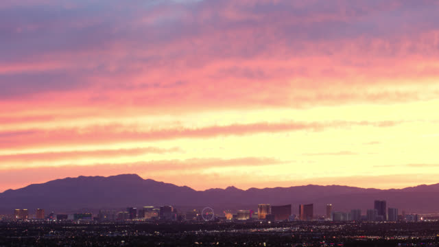 Las Vegas Sunset Timelapse video