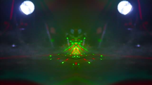 Laser and Light Concert Dancefloor Stage video