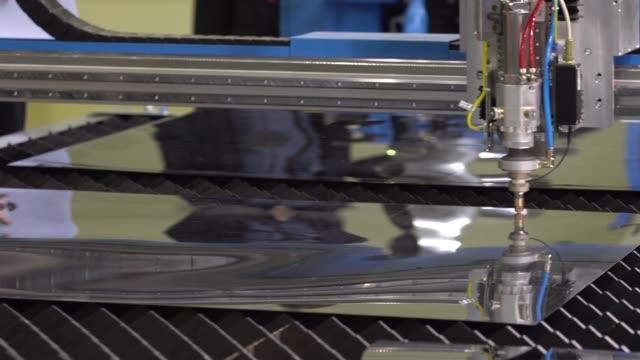 Laser cutting machine video