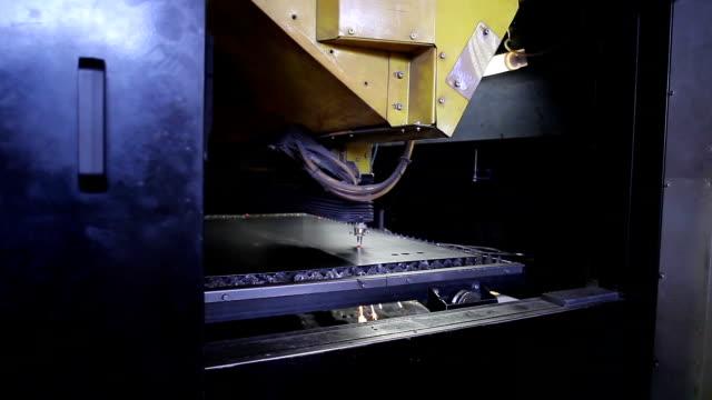 Laser Cutting of Metal video