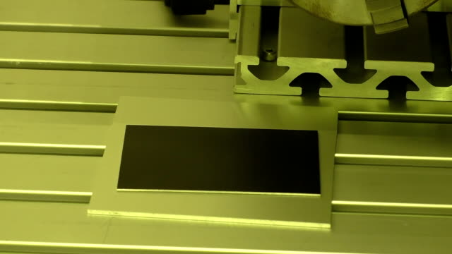 Laser drawing and marking video