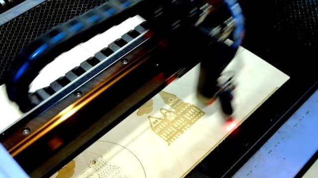 Laser engraving machine video