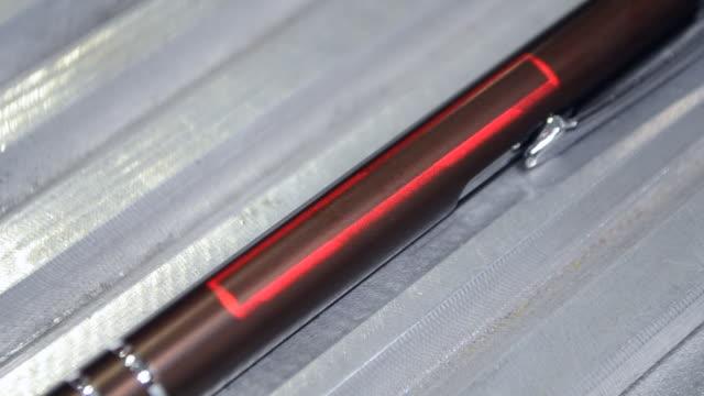 Laser engraving on metal
