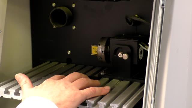 Laser marking machine video