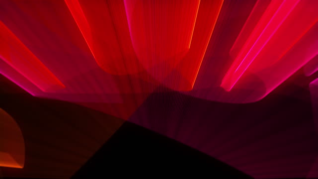 Laser show abstraction with bright colors, 3d rendering computer generated background