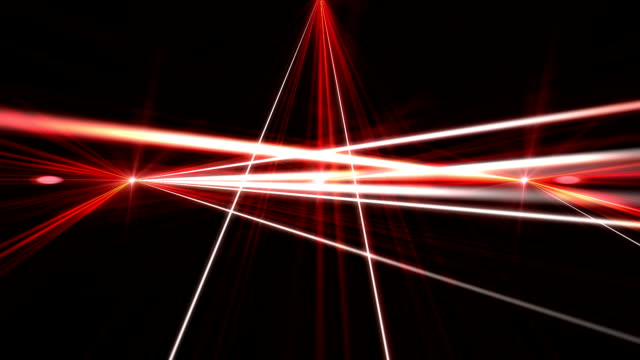 laser show from multi-colored rays of light in dark in disco. warning, laser beams dangerous for camera sensor laser show from multi-colored rays of light in dark in disco. warning, laser beams dangerous for camera sensor laser stock videos & royalty-free footage