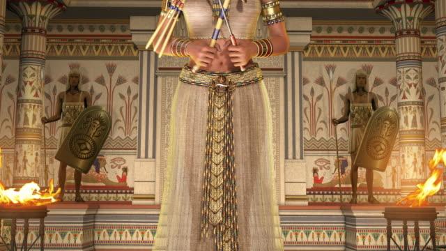 sista egyptiska farao cleopatra - egyptisk kultur bildbanksvideor och videomaterial från bakom kulisserna
