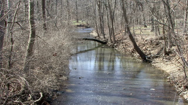 Late Winter Creek video