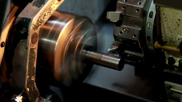lathe factory lathe factory brushed metal stock videos & royalty-free footage