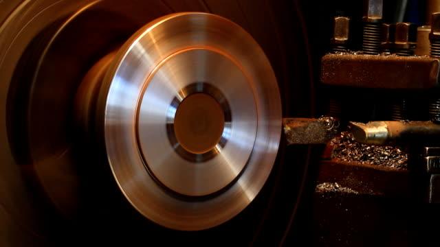 Lathe Turning Steel video