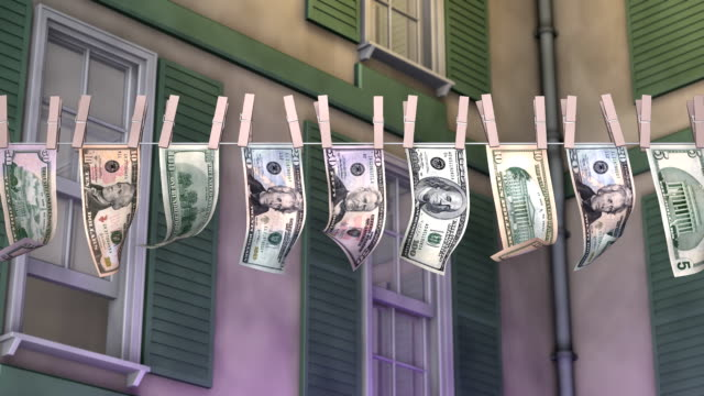 Laundering American Paper Currency video