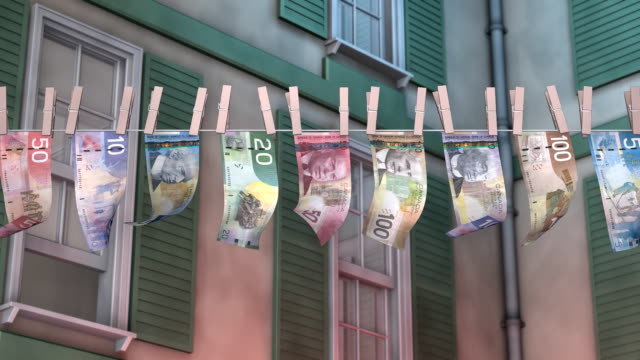 Laundering Canadian Paper Currency video