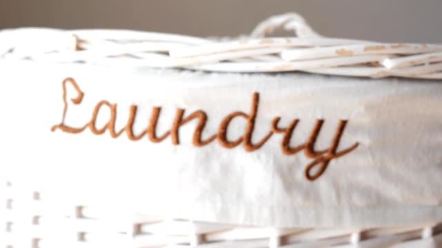 laundry basket rack focus video