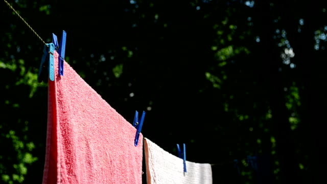 laundry dry move wind video
