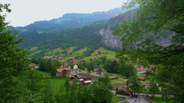 lauterbrunnen, bern/schweiz - grindelwald bildbanksvideor och videomaterial från bakom kulisserna