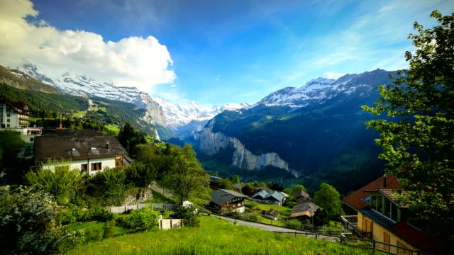 stockvideo's en b-roll-footage met lauterbrunnen, zwitserland - zermatt